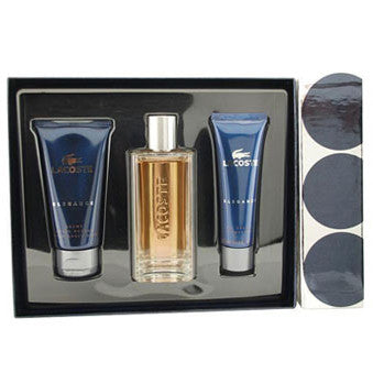 Lacoste Elegance by Lacoste 50ml EDT 3 Piece Gift Set