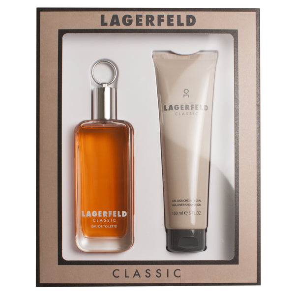 Lagerfeld by Karl Lagerfeld 100ml EDT 2 Piece Gift Set