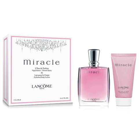 Miracle by Lancome 50ml EDP 2 Piece Gift Set