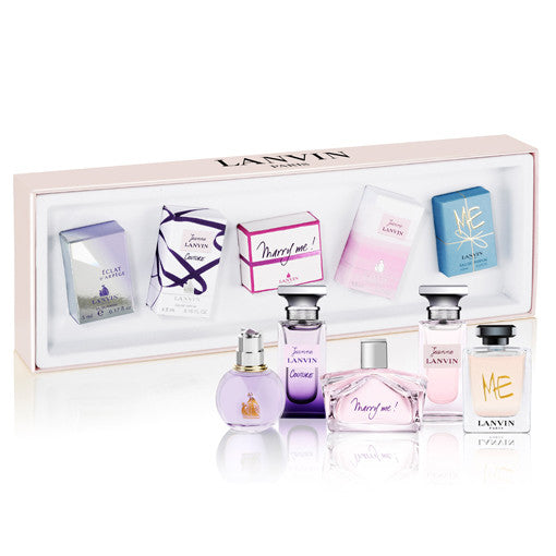 Lanvin Perfume Collection 5 Piece Gift Set