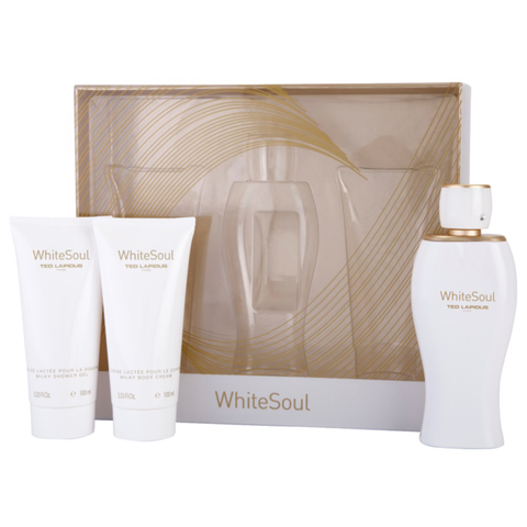 White Soul by Ted Lapidus 100ml EDP 3 Piece Gift Set