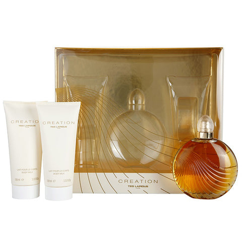 Creation by Ted Lapidus 100ml EDT 3 Piece Gift Set