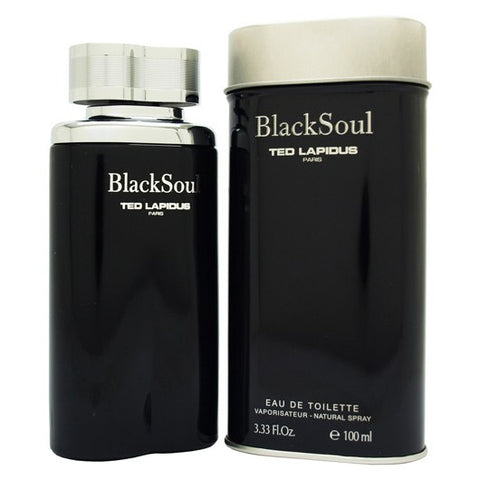 Black Soul by Ted Lapidus 100ml EDT for Men
