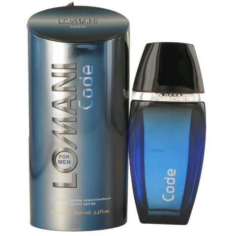 Lomani Code by Lomani 100ml EDT for Men
