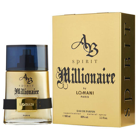 AB Spirit Millionaire by Lomani 100ml EDP for Men