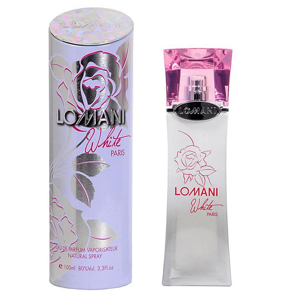 White by Lomani 100ml EDP for Women