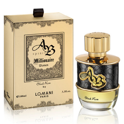 AB Spirit Millionaire Black Rose by Lomani Paris 100ml EDP