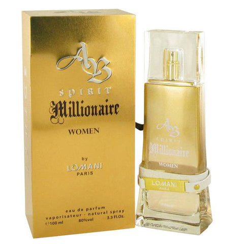 AB Spirit Millionaire by Lomani Paris 100ml EDP (W)