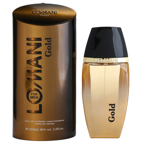 Gold by Lomani 100ml EDT for Men