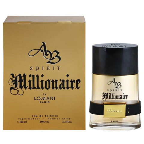 AB Spirit Millionaire by Lomani Paris 100ml EDT