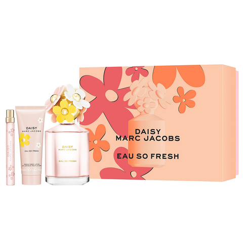 Daisy Eau So Fresh by Marc Jacobs 125ml 3 Piece Gift Set