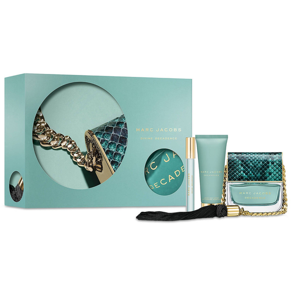 Divine Decadence by Marc Jacobs 100ml EDP 3pc Gift Set