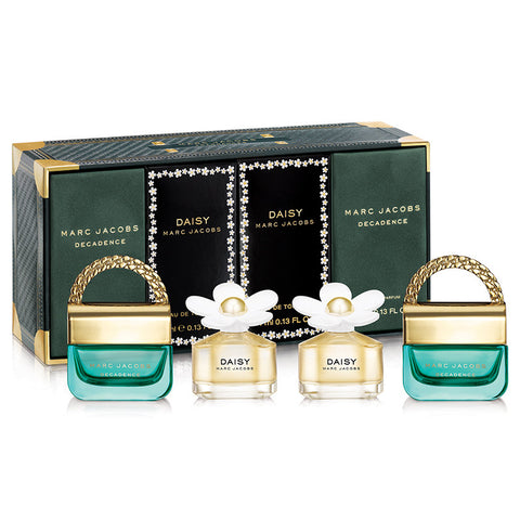 Marc Jacobs Perfume Collection 4-Piece Gift Set