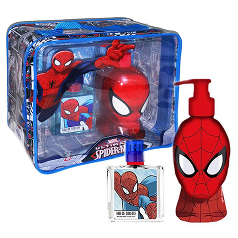 Marvel Ultimate Spiderman 50ml EDT 3 Piece Gift Set