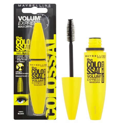 Maybelline The Colossal Volum' Express 10.7ml Mascara 100% Black