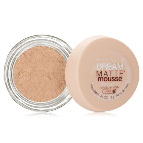 Maybelline Dream Matte Mousse Foundation - Porcelain Ivory