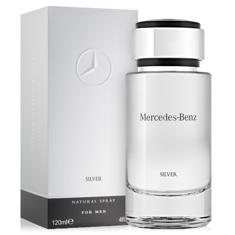 Mercedes Benz Silver by Mercedes Benz 120ml EDT