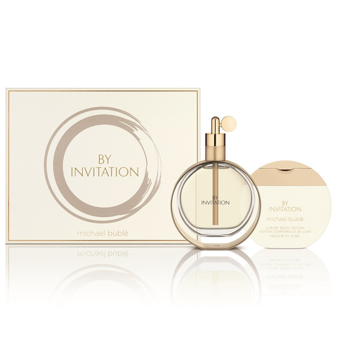 By Invitation by Michael Buble 100ml EDP 2 Piece Gift Set