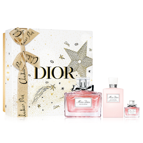 Miss Dior by Christian Dior 100ml EDP 3 Piece Gift Set