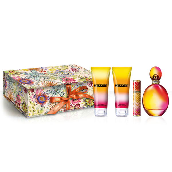 Missoni by Missoni 100ml EDT 4 Piece Gift Set