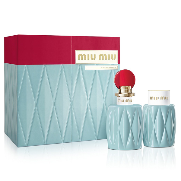 Miu Miu by Miuccia Prada 100ml EDP 2 Piece Gift Set