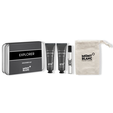 Explorer by Mont Blanc 7.5ml EDP 4 Piece Gift Set
