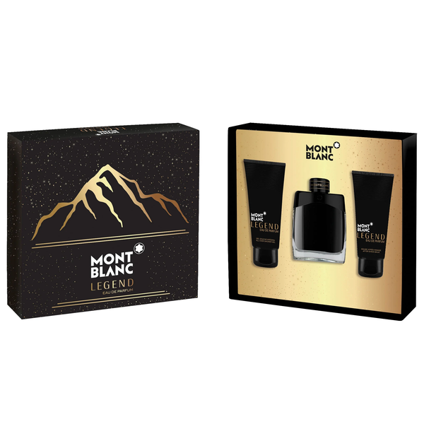 Legend by Mont Blanc 100ml EDP 3 Piece Gift Set