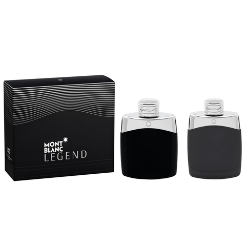 Legend by Mont Blanc 100ml EDT 2 Piece Gift Set