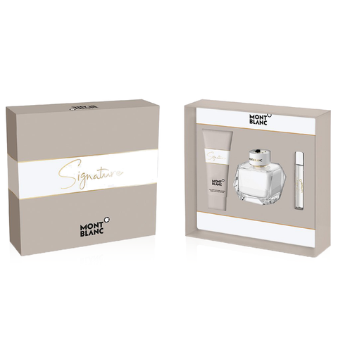 Signature by Mont Blanc 90ml EDP 3 Piece Gift Set
