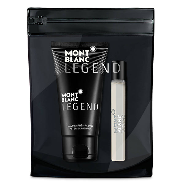 Mont Blanc Legend 7.5ml EDT 3 Piece Gift Set