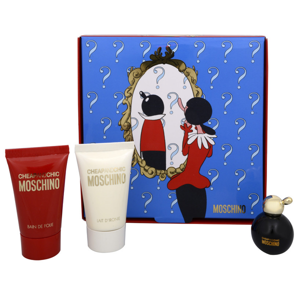 Cheap & Chic by Moschino 4.9ml EDT 3 Piece Gift Set