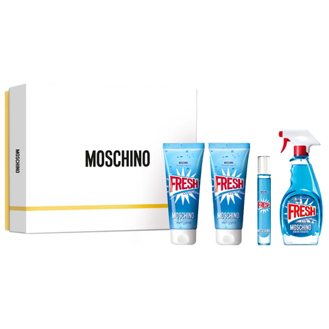Fresh Couture by Moschino 100ml EDT 4 Piece Gift Set
