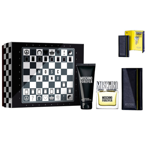 Moschino Forever by Moschino 50ml EDT 3 Piece Gift Set