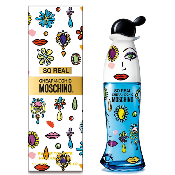 So Real by Moschino 100ml EDT for Women
