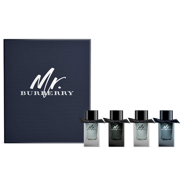 Mr. Burberry Perfume Collection 4 Piece Gift Set