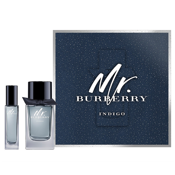 Mr. Burberry Indigo by Burberry 100ml EDT 2pc Gift Set