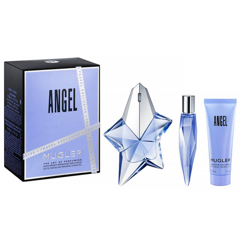 Angel by Thierry Mugler 50ml EDP 3 Piece Gift Set