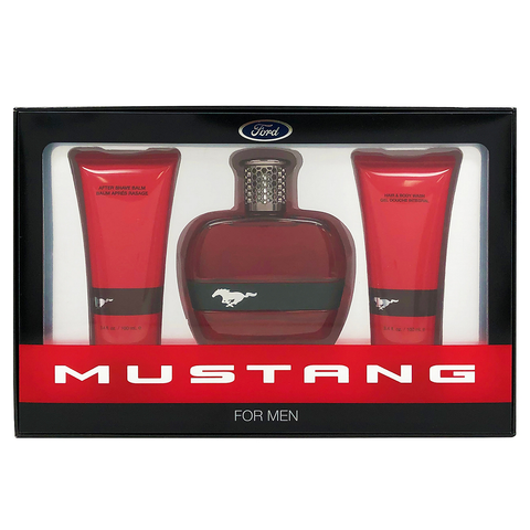 Mustang For Men by Ford 100ml EDT 3 Piece Gift Set