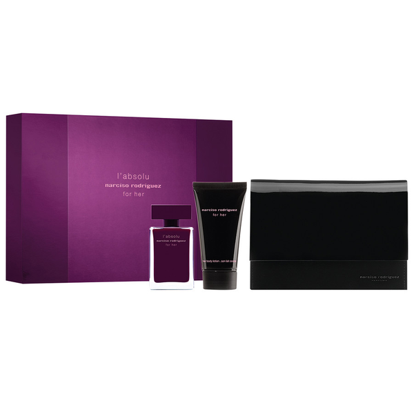 Narciso Rodriguez for Her L'Absolu 50ml EDP 3pc Gift Set