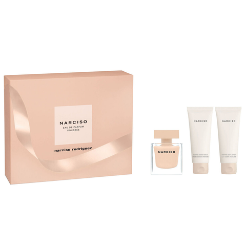 Narciso Poudree by Narciso Rodriguez 50ml EDP 3pc Gift Set