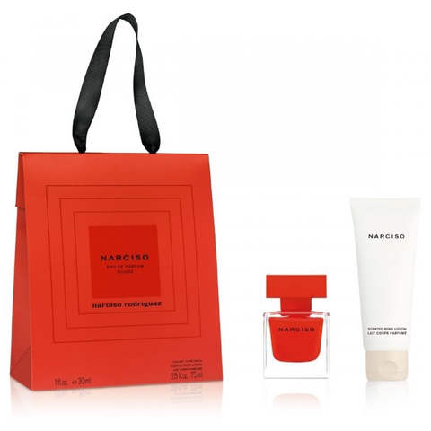 Narciso Rouge by Narciso Rodriguez 30ml EDP 2pc Gift Set
