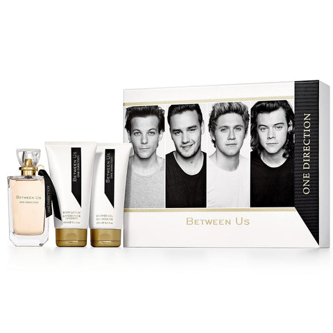Between Us by One Direction 100ml EDP 3 Piece Gift Set