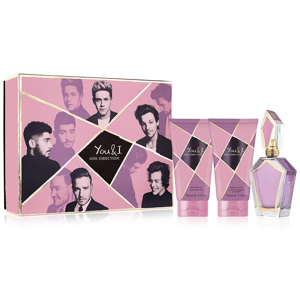 You & I by One Direction 100ml EDP 3 Piece Gift Set