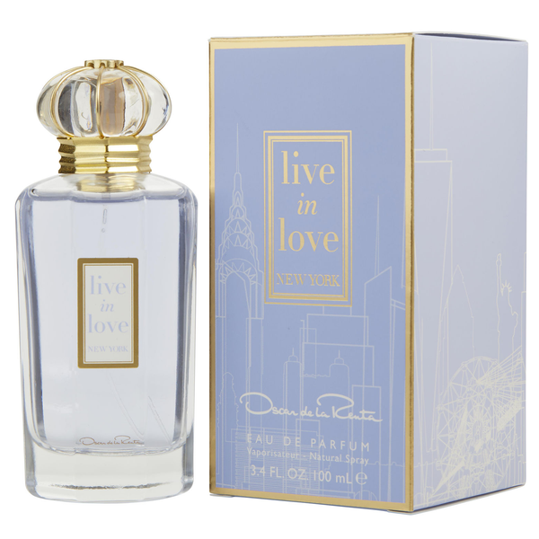 Live in Love New York by Oscar De La Renta 100ml EDP