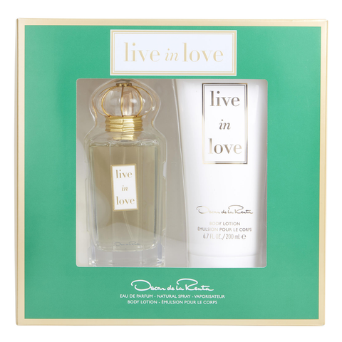 Live in Love by Oscar De La Renta 100ml EDP 2 Piece Gift Set