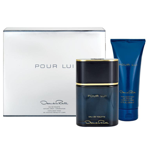 Oscar Pour Lui by Oscar De La Renta 90ml EDT 2 Piece Gift Set