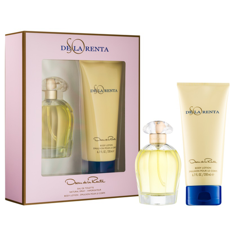 So De La Renta by Oscar De La Renta 100ml EDT 2 Piece Gift Set