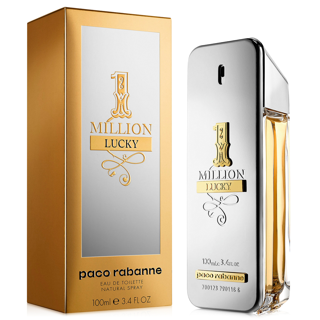 ade533e79decc One Million Lucky by Paco Rabanne 100ml EDT
