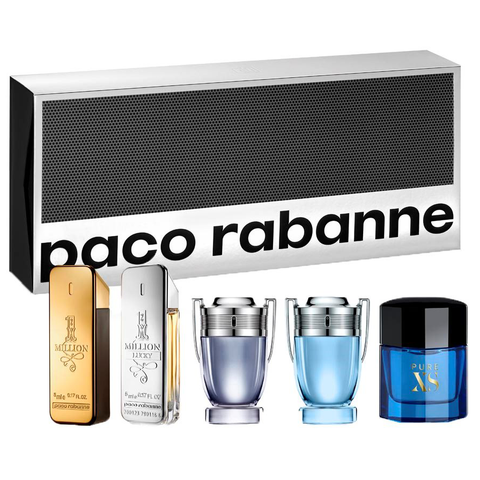 Paco Rabanne Collection 5 Piece Gift Set for Men