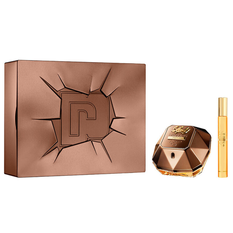 Lady Million Prive by Paco Rabanne 80ml EDP 2pc Gift Set